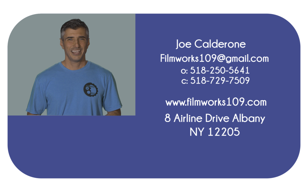 Filmworks 109 Video Business Card